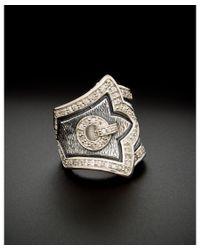 Scott Kay   Metallic Silver 0.75 Ct. Tw. White Sapphire Ring   Lyst