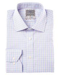 Thomas Dean | Blue Non-iron Dress Shirt for Men | Lyst