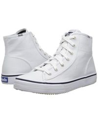 Keds - White Women's Double Up Lace-up Sneaker - Lyst