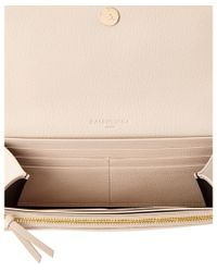 Balenciaga - Multicolor Classic Metallic Edge Money Leather Long Wallet - Lyst