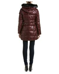 Marc New York | Brown Jillian Lacquer Puffer Down Coat | Lyst