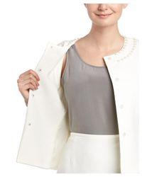 Tahari - White Tahari Asl Petite 2pc Skirt Suit - Lyst
