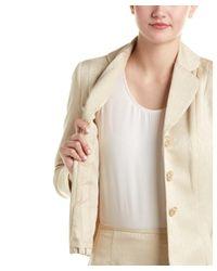 Kasper - Yellow Jacket & Skirt Suit - Lyst