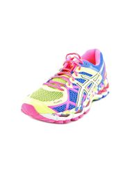 Asics | Multicolor Gel-kayano 21 Round Toe Synthetic Running Shoe | Lyst