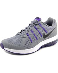 Nike | Gray Air Max Dynasty Msl Round Toe Synthetic Cross Training | Lyst