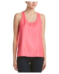 Parker - Pink Strappy Tank - Lyst