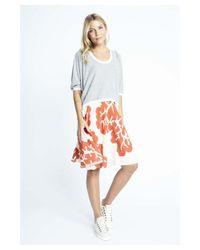 Karen Zambos - Multicolor Coral Virginia Skirt - Lyst