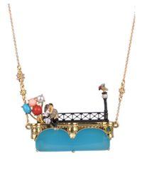 Les Nereides - Multicolor Paris My Love Long Necklace - Lyst
