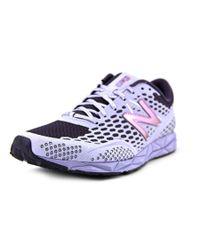 New Balance | Purple W1600 Round Toe Synthetic Running Shoe | Lyst