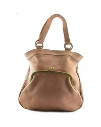 Marni   Natural Canyon Leather Tote   Lyst