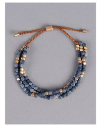 Armitage Avenue - Blue Layered Bead Bracelet - Lyst