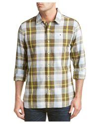 Victorinox   Green Swiss Army Niesen Linen-blend Tailored Fit Woven Shirt for Men   Lyst