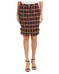 Trina Turk | Brown Jael Skirt | Lyst