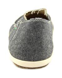 Sanuk - Gray Rounder Hobo Moc Toe Canvas Loafer for Men - Lyst