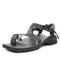 Chaco | Black Updraft Ecotread 2 Open-toe Canvas Sport Sandal | Lyst