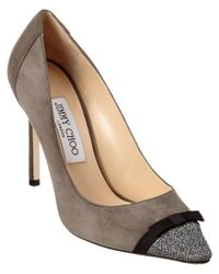 Jimmy Choo | Multicolor Dorothy 100 Lame Glitter & Suede Pointy-toe Pump | Lyst