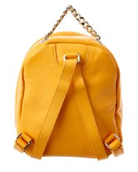 Furla - Orange Spy Bag Mini Leather Backpack - Lyst