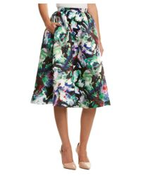Parker Black | Multicolor Luisa Midi Skirt | Lyst