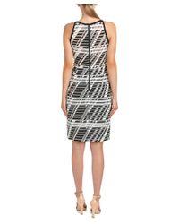Parker - Black Timber Sheath Dress - Lyst