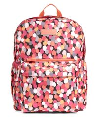 Vera Bradley | Red Pixie Confetti Lighten Up Grande Backpack | Lyst