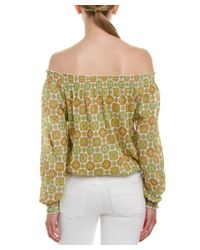 Larsen Gray - Multicolor Larsen Grey Blouse - Lyst