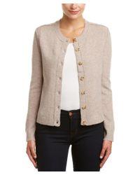 INHABIT | Natural Wool-blend Cardigan | Lyst