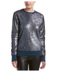 Equipment | Blue Shane Wool-blend Sweater | Lyst