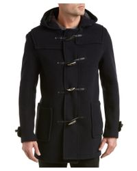 Gloverall | Blue Mid-length Wool-blend Duffle Coat for Men | Lyst