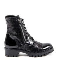Versace - Brown Womens Short Boot - Lyst