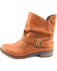 American Rag - Brown Caden Round Toe Leather Ankle Boot - Lyst