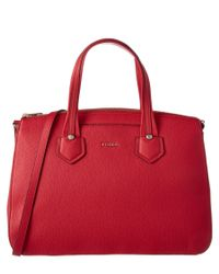 Furla | Red Giada Large Leather Satchel | Lyst