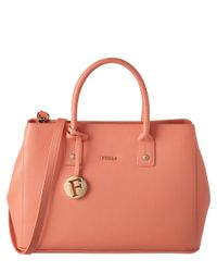 Furla | Multicolor Linda Small Leather Tote | Lyst