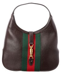 Gucci | Brown Jackie Soft Leather Hobo | Lyst
