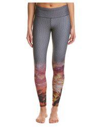 Noli Yoga | Gray Twilight Legging | Lyst