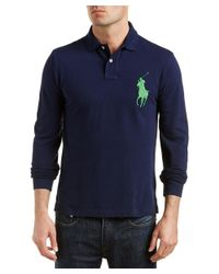 Ralph Lauren - Blue Polo Slim Fit Polo Shirt for Men - Lyst