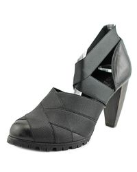 Acrobats Of God - Black Taffa-80 Round Toe Synthetic Heels - Lyst