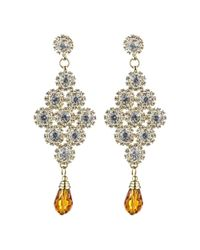 Rosena Sammi - Metallic Jewelry Beaded Shree Earrings - Lyst