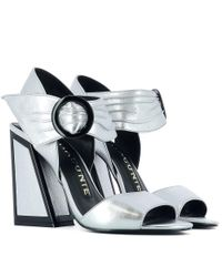 Kat Maconie | Metallic Women's Silver Leather Sandals | Lyst