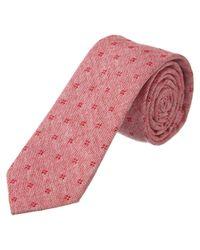 Original Penguin - Red Hand-made Tie for Men - Lyst