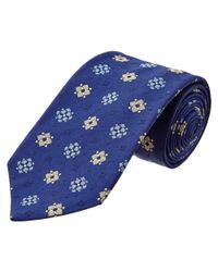 Thomas Pink - Blue Silk Tie for Men - Lyst