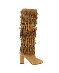 Aquazzura - Brown Womens High Boot - Lyst