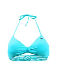 Banana Moon - Blue Turquoise Bra Swimsuit Lace Creo - Lyst