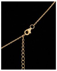 Argento Vivo - Metallic 18k Over Silver Cz Figure 8 Necklace - Lyst