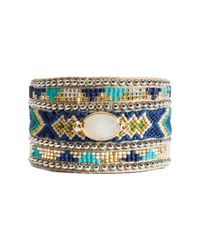 Hipanema - Blue Summer Crystal Bracelet - Lyst