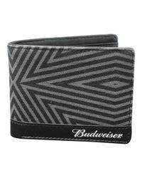 Buxton - Black Men's Budweiser Slimfold Wallet With Bottle Opener for Men - Lyst