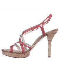 Michael Kors - Black Michael Women's Cicely Cork Platform Sandals - Lyst