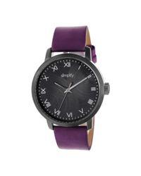 Simplify - Purple Men's The 4200 Quartz Watch for Men - Lyst