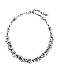 Ben-Amun - Metallic 'crystal Vine' Collar Necklace - Lyst
