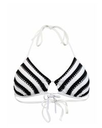 Seafolly | Black Triangle Swimsuit Coast To Coast | Lyst