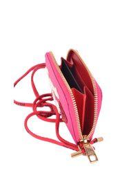 Dolce & Gabbana - Pink Dolce E Gabbana Women's Mcbi099400o Fuchsia Leather Wallet - Lyst